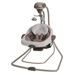 infant swing and bouncer combo