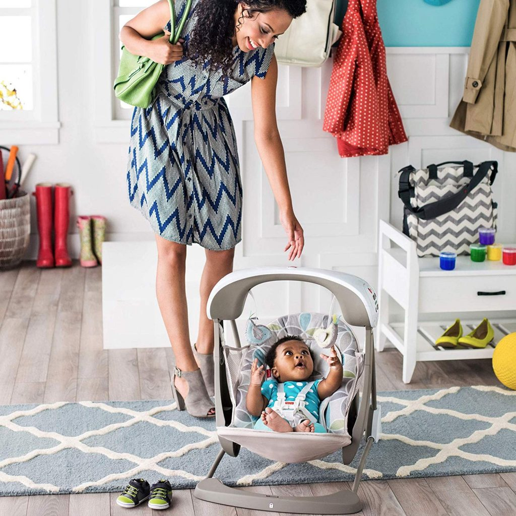 Are Baby Swings Safe for Newborns
