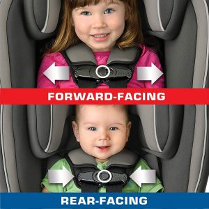 accurate way to make a baby sit on a car seat