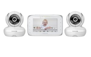 dual camera video monitor for babies