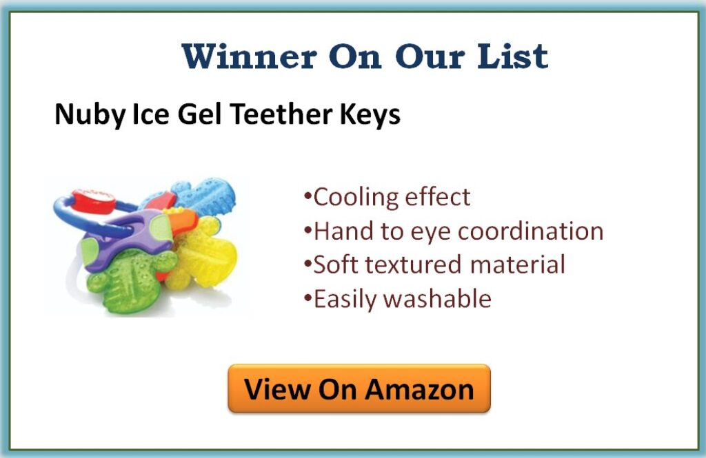 Best infant teething toys for 3 month old