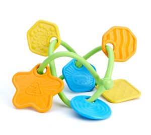 Easy to carry infant teether toys