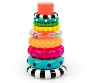 Toys and stack rings that boost cognitive development in 9 month old kids
