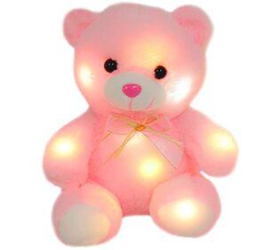 Soft light-up baby bear for kids