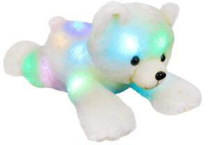 Best-valued glowing teddy bears for night sleep