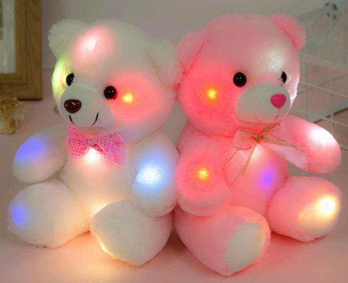 top led teddy bear for kids