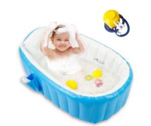 6 month old infant inflatable bathtub